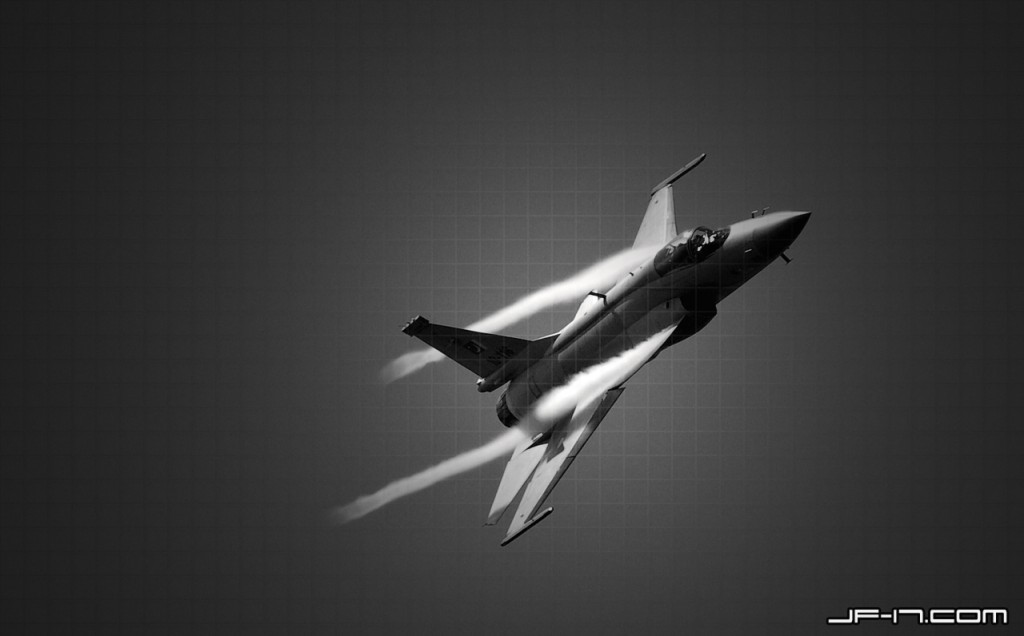 JF-17 Thunder wallpaper inspired by Black Spiders Squadron